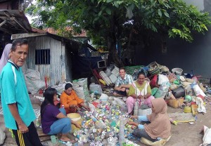 CAMEOS in Indonesia - Fellow Dale Trockel & and recyclers