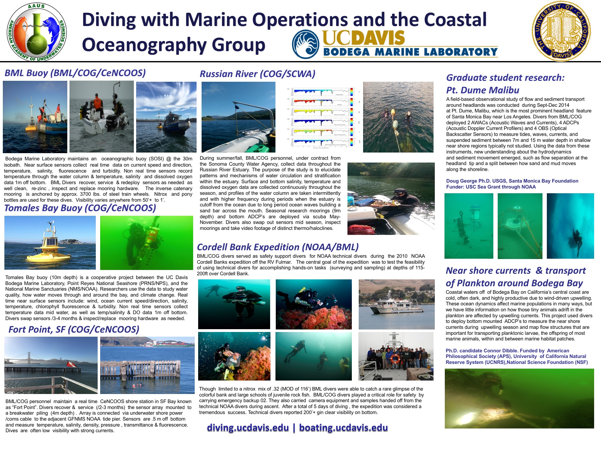 Marine Operations and Scientific Diving